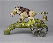 Wild Mule Jack Bell Toy