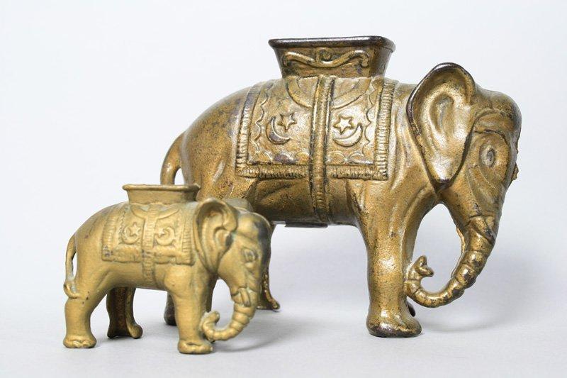 Two Elephants Still Bank