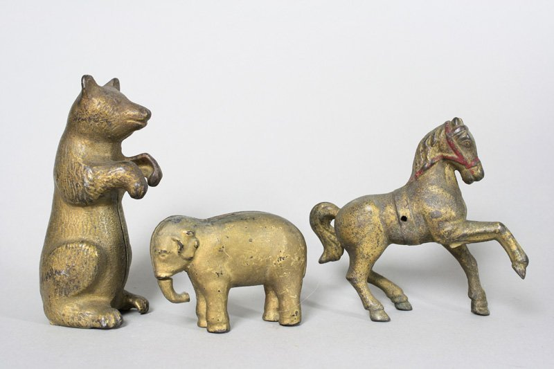Bear / Elephant / Horse with Belly Band Still Bank