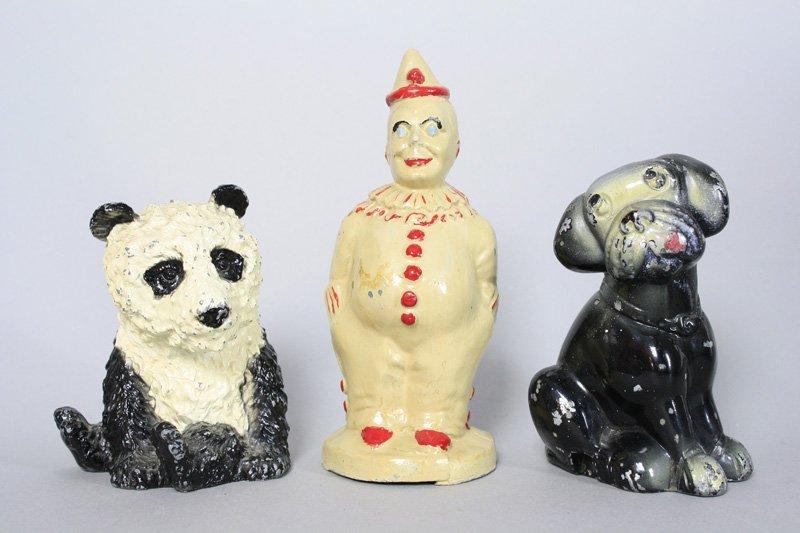 Panda / Clown / Comical Dog Still Bank