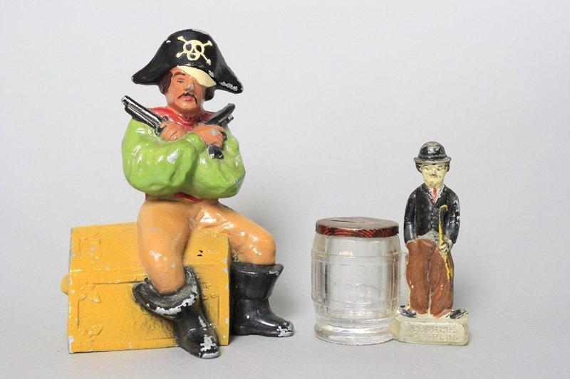Pirate / Charlie Chaplin Still Bank
