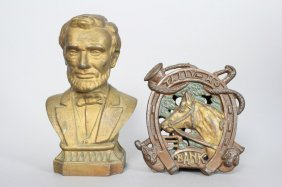 Lincoln Bust / Tally Ho Banks Still Bank
