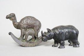 Oriental Camel / Rhino Still Bank