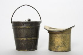 Penny Register Pail / Pass Around The Hat Still Bank