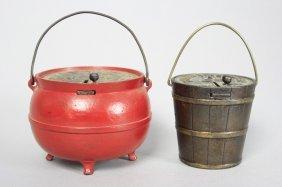 Penny Register Pail / Nickel Register Bean Pot Still