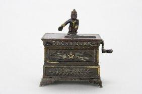 Organ Bank, Miniature Mechanical Bank