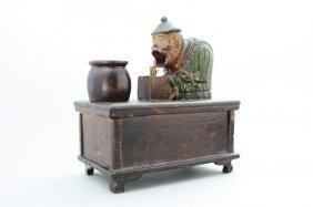 Chinese Conjurer Mechanical Bank