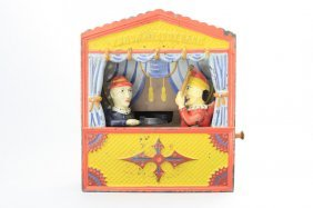 Punch And Judy, Small Letters Mechanical Bank