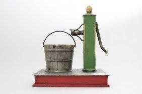 Pump And Bucket Mechanical Bank