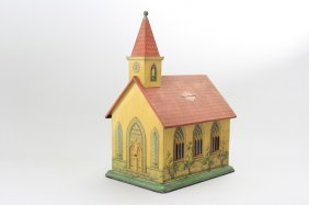Musical Church, Tin Mechanical Bank