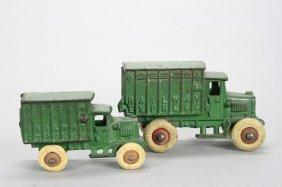 Railway Express Trucks Cast Iron