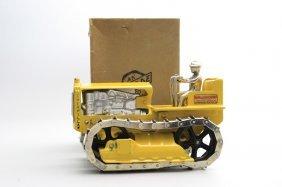 Caterpillar Tractor, With Original Box Cast Iron