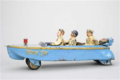 �Penn Yan� Motorboat Cast Iron