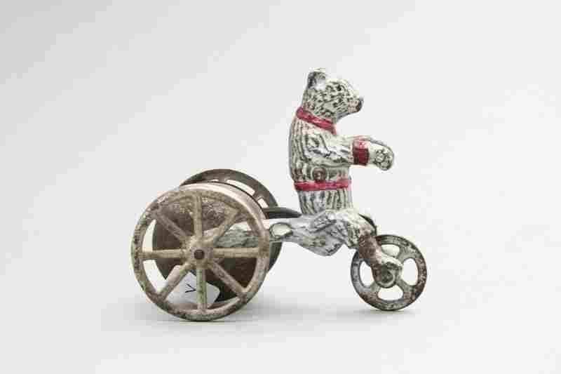 Teddy Bear Bell Toy
