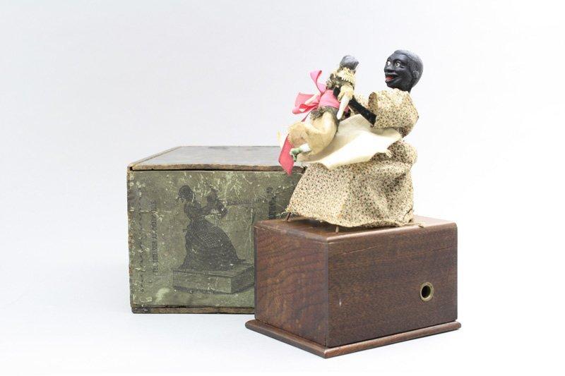Nursemaid with Box