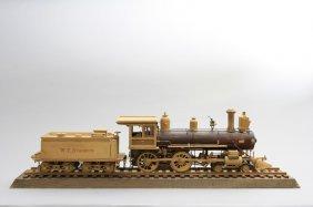 """w. F. Starbuck"" Train Engine Model"