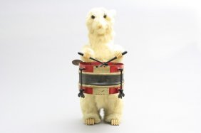Drumming Bunny Automaton
