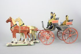 Two Seat Carriage Probably Marklin