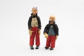 Mutt & Jeff Articulated Figures Bouchard