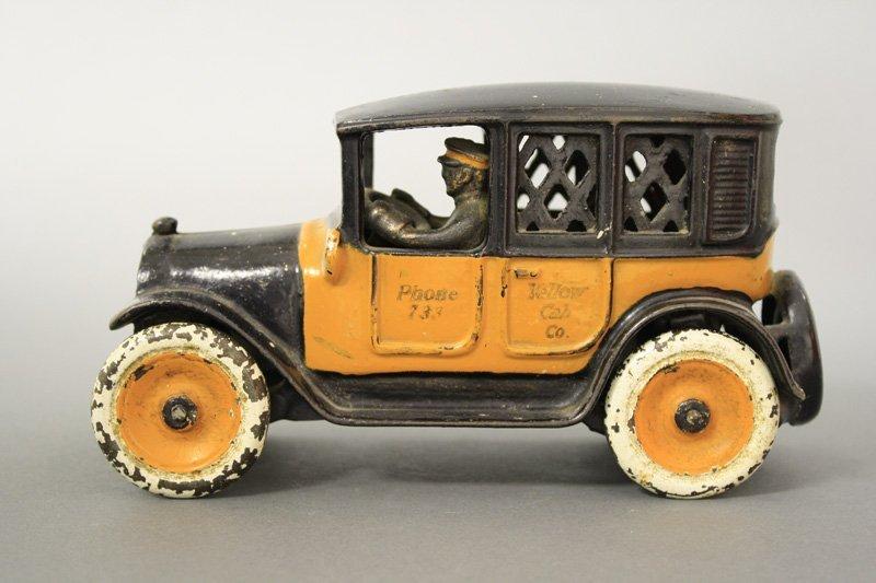 Yellow Cab, Cast Iron Wheels