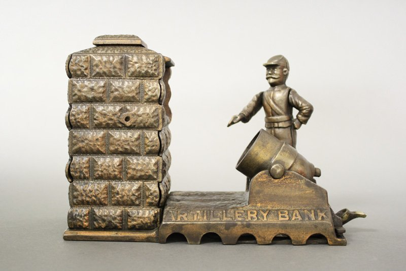 Artillery Bank – Electroplated