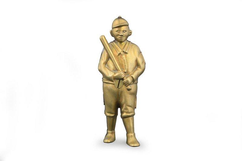 Baseball Player Still Bank Brass Pattern for Screw in