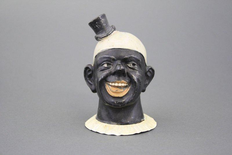 Black Clown Bust