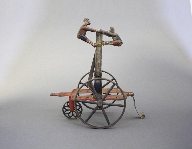 Monkey Acrobats Pull Toy