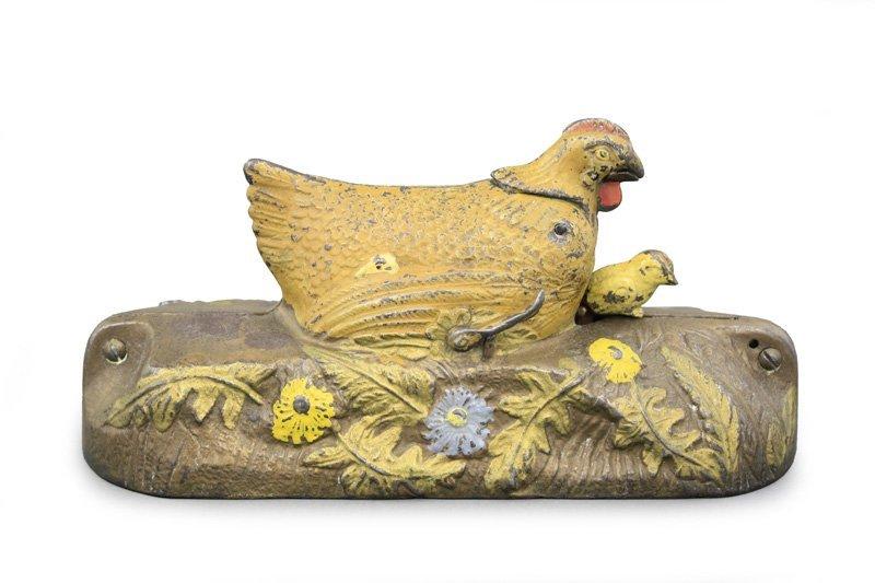 Hen and Chicks Bank, Brown Hen