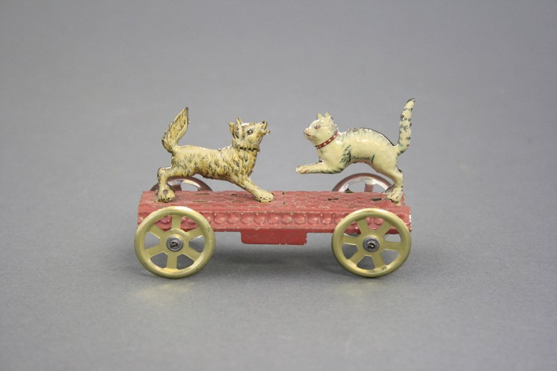 Articulated Cat & Dog Penny Toy