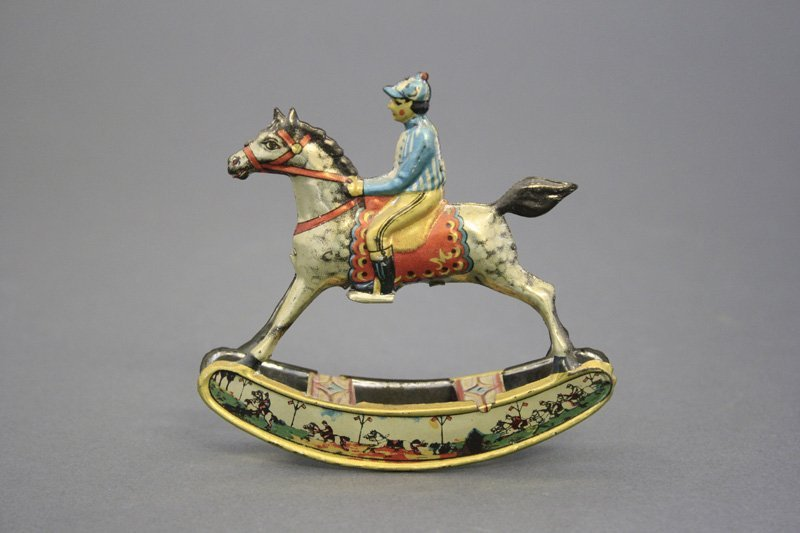 Rocking Horse & Jockey Penny Toy