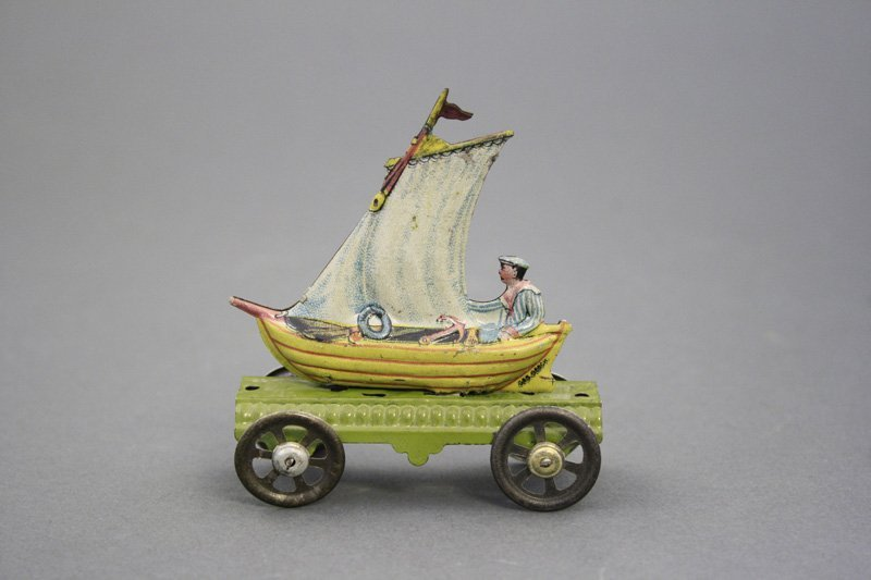 Sailboat Penny Toy
