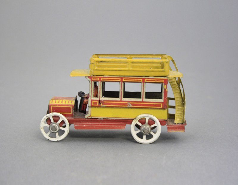 Double Decker Bus Penny Toy
