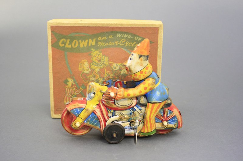 Clown Motorcycle with Box