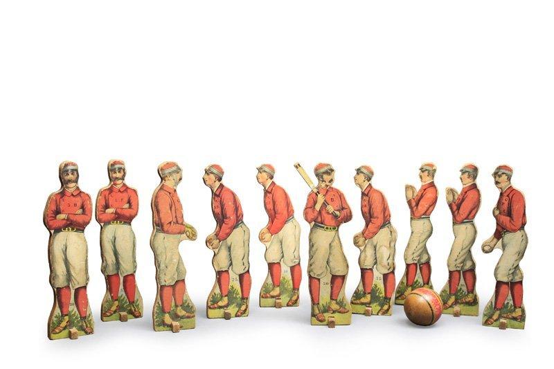 Baseball Ten Pins