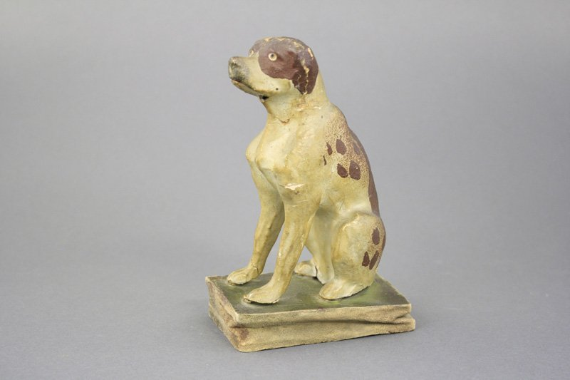 Squeak Toy - Seated Dog