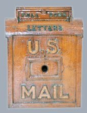 74: STILL BANK PATTERN - U.S. MAILBOX, 2 POUNDER,