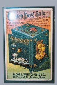 547: WATCHDOG SAFE MECH BANK TRADE CARD