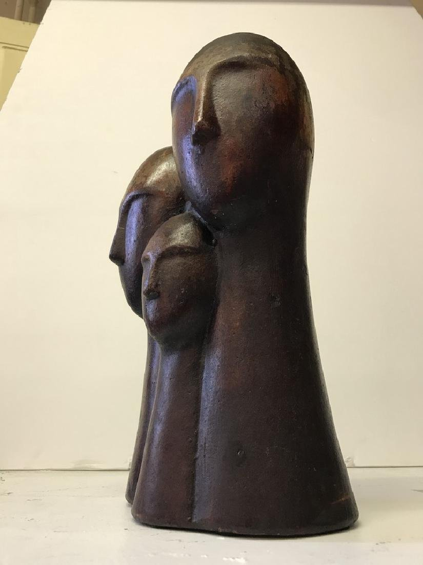 Figurative Terracotta Sculpture of Family - 8
