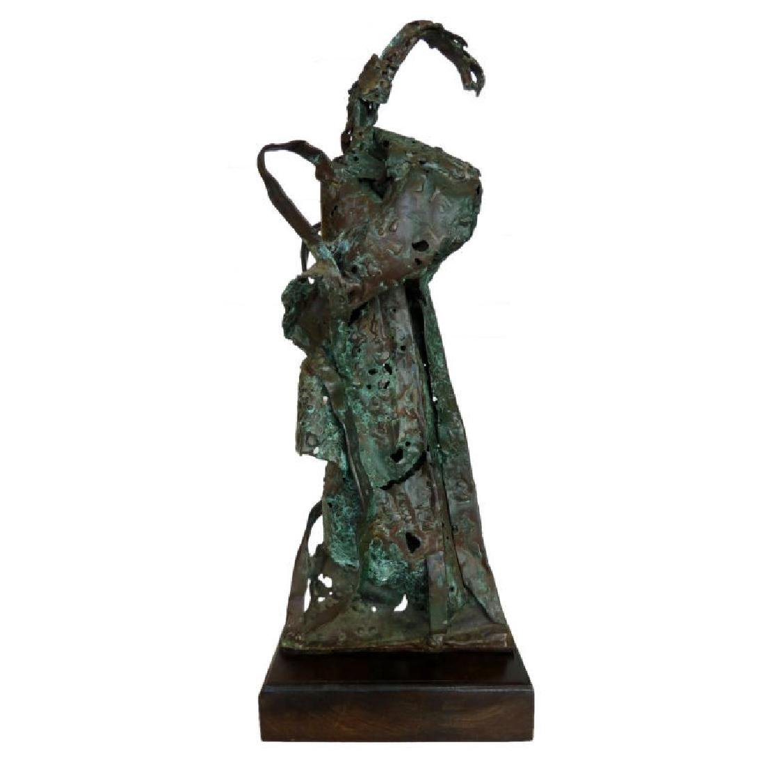 Expressionist Bronze Sculpture by Howard Quam