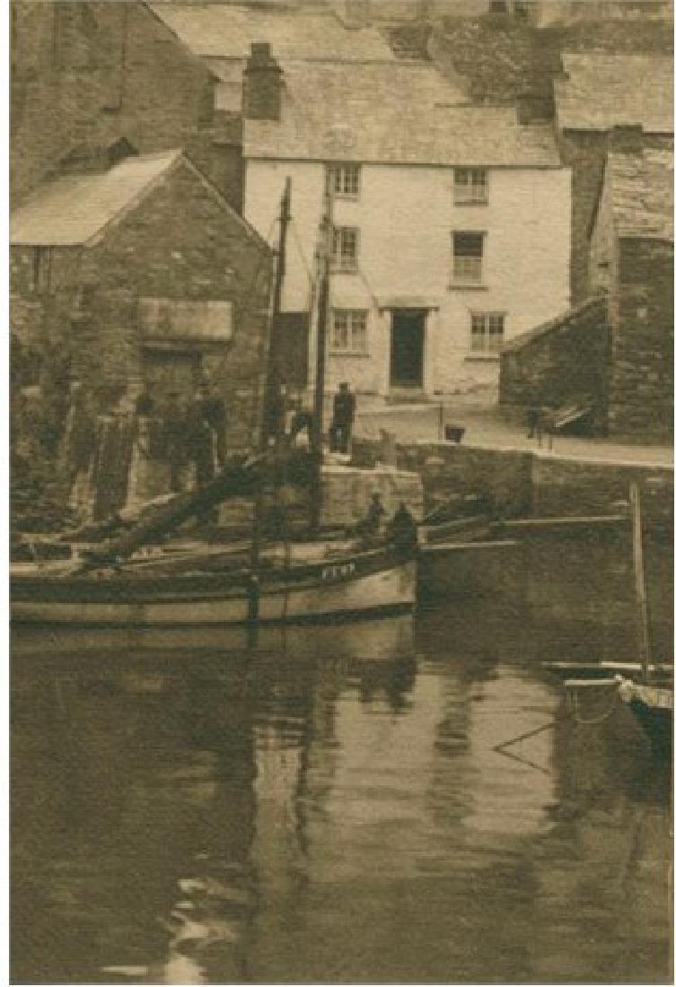 English Fishing Village. C1925