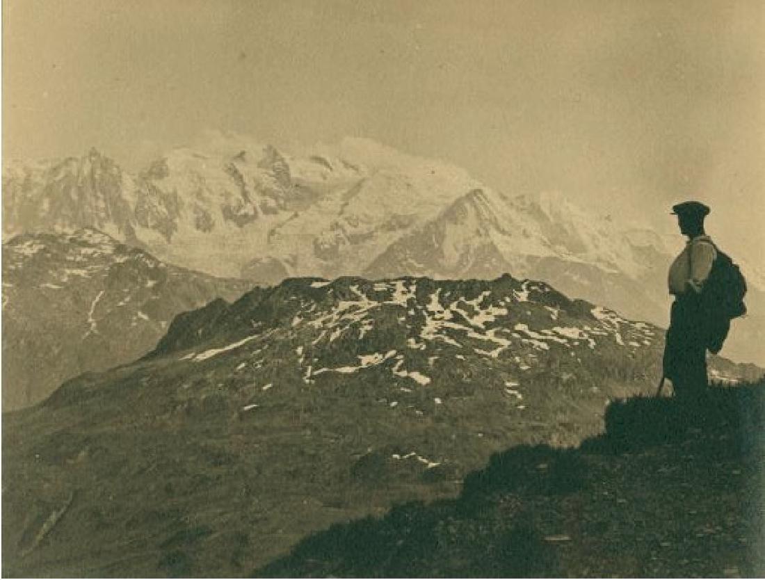 Mont Blanc, 1925