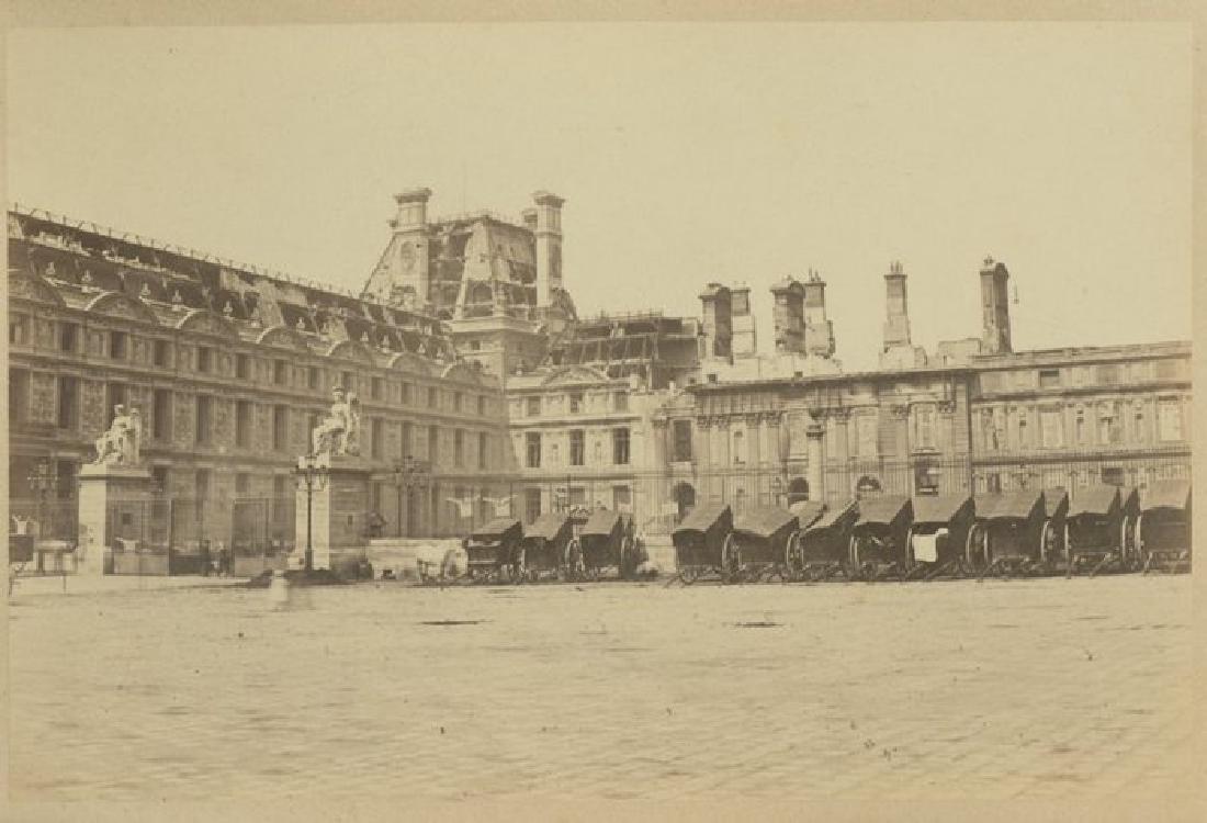 Paris Commune - Damage to the Tuileries, c1871