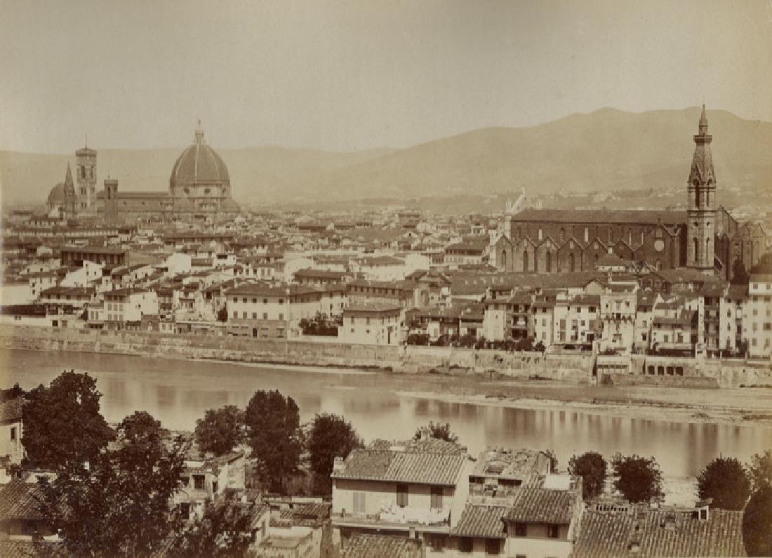 Panorama of Florence. C1880