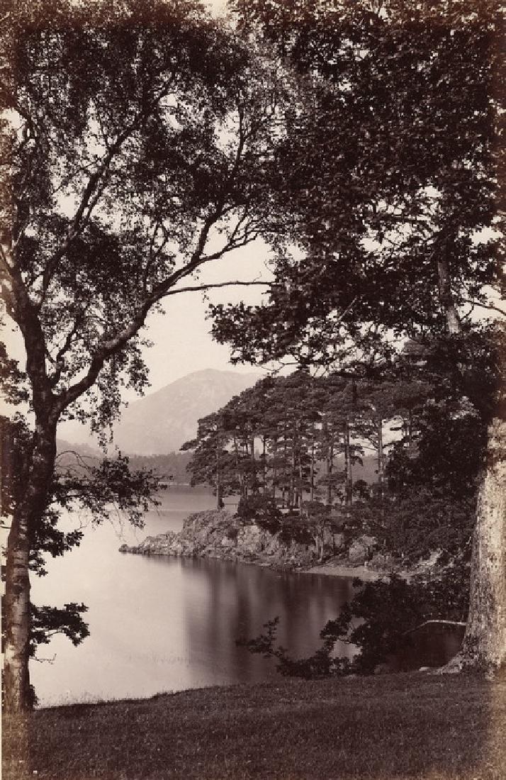 Friars Crag, Derwent Water, Lake District. C1882