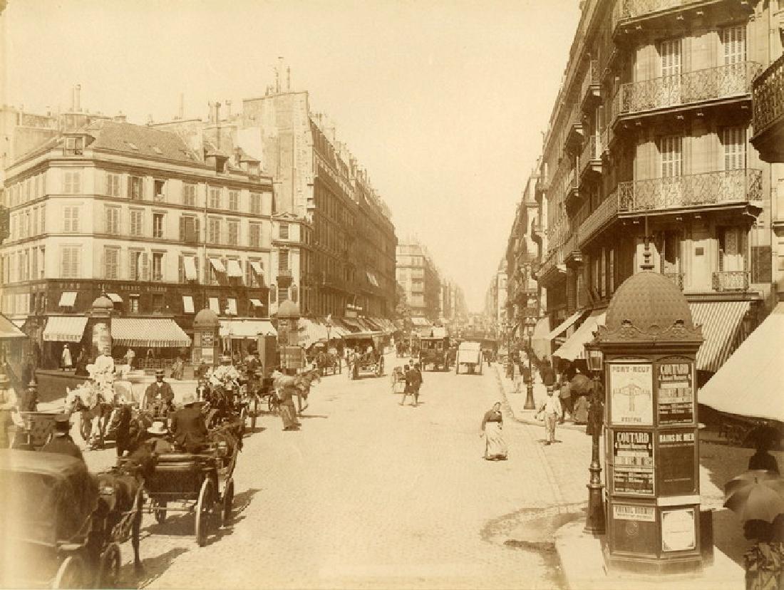 Paris - Summer Street Scene. c1875