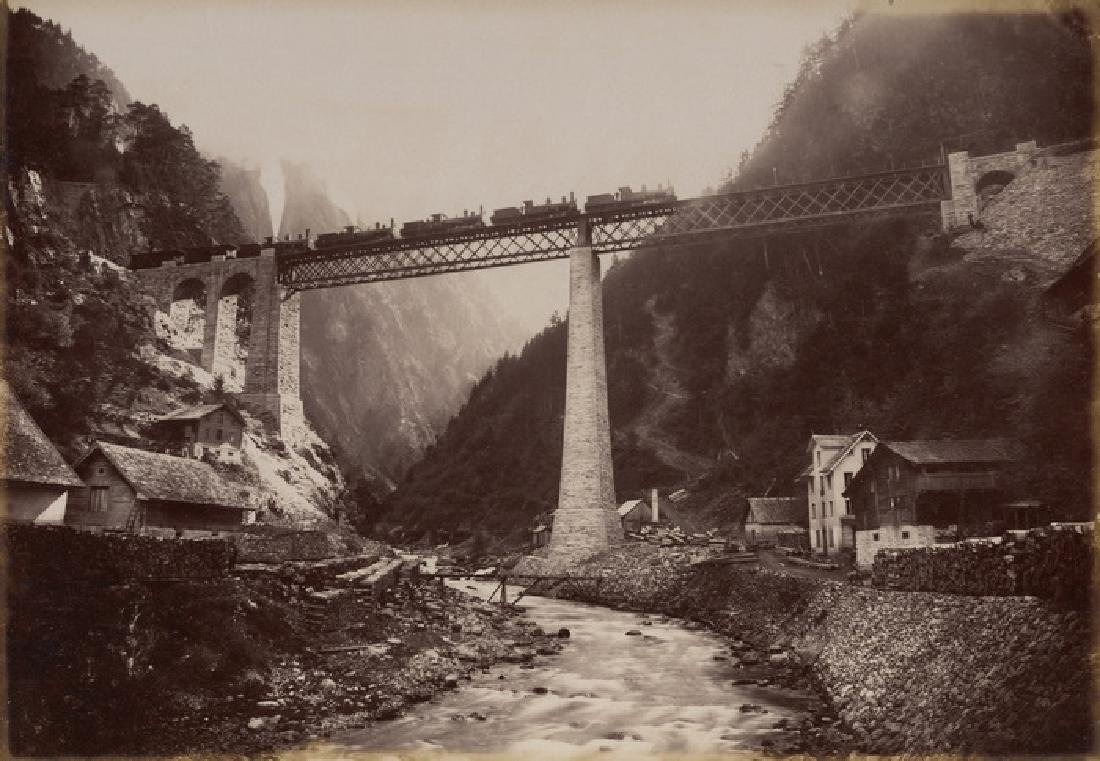 Load Test at Kerstelenbach Bridge, St. Gothard,