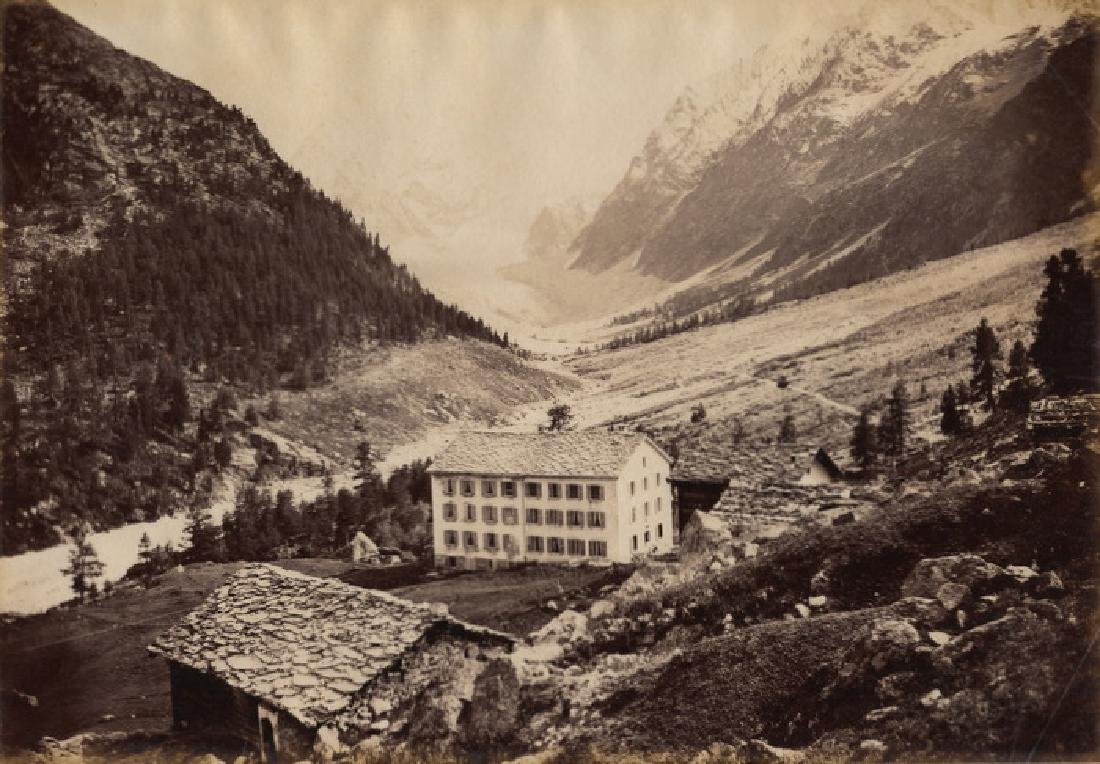 Mount Collon, Switzerland. c1880