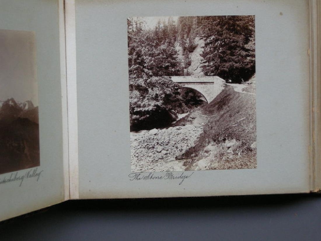 Photograph Album of Adelboden. 1902
