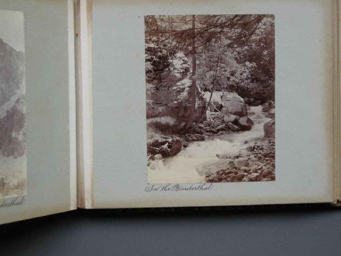 Photograph Album of Adelboden. 1902 - 2